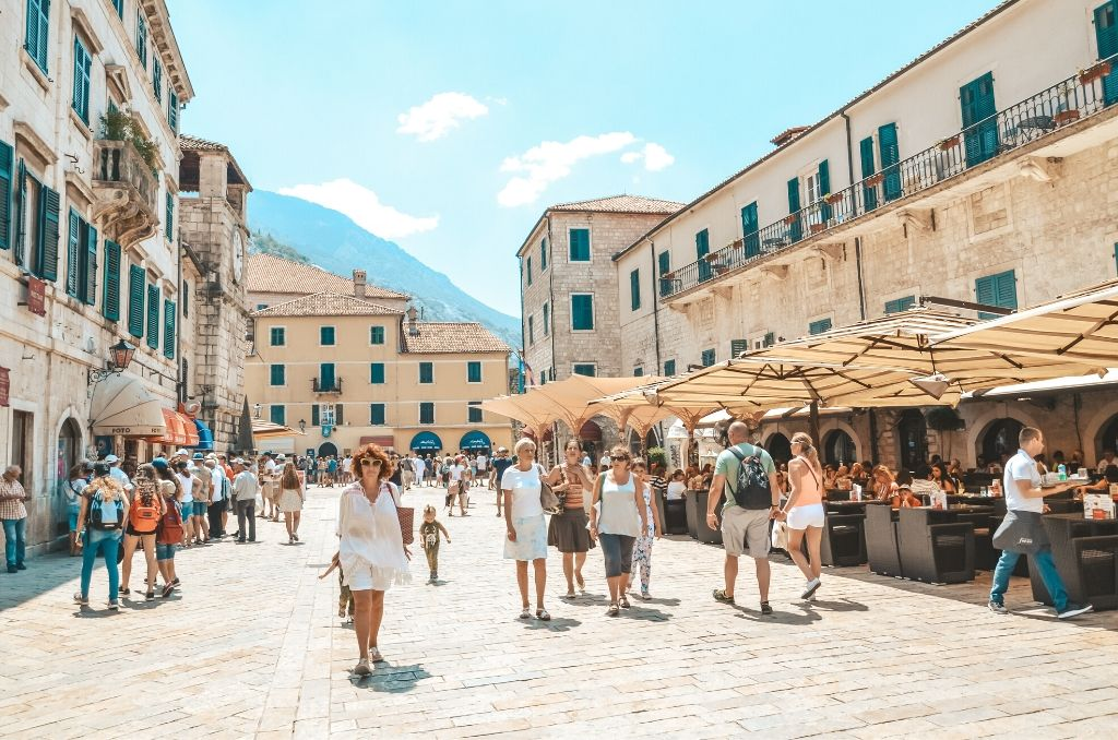 Zwiedzanie Kotor