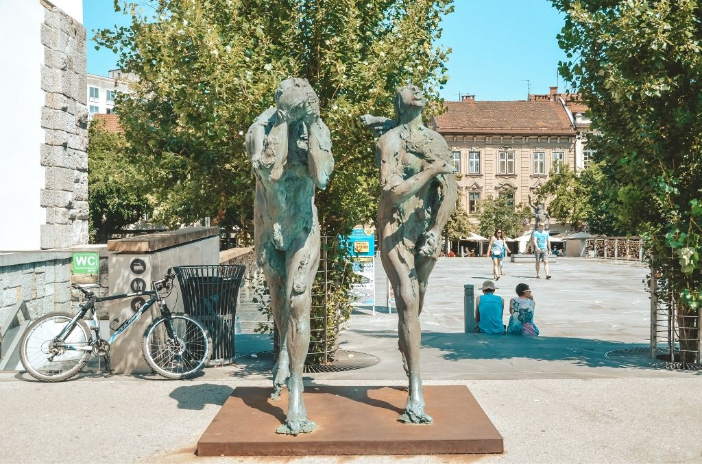 Lublana pomniki