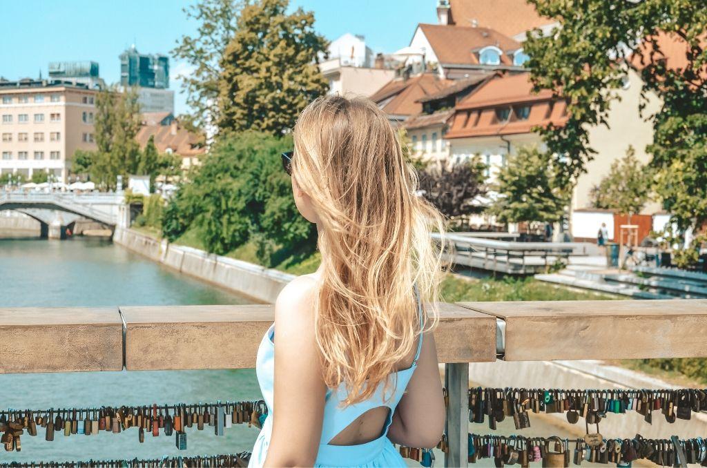 Most w Lublanie