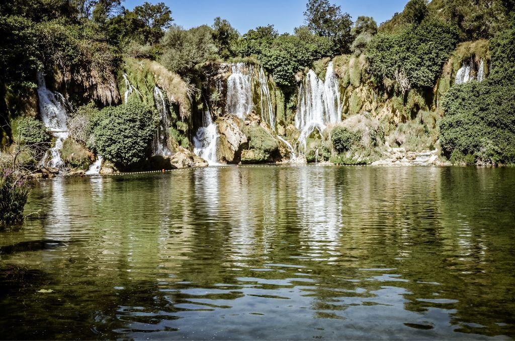 Wodospady Kravica Bośnia i Hercegowina