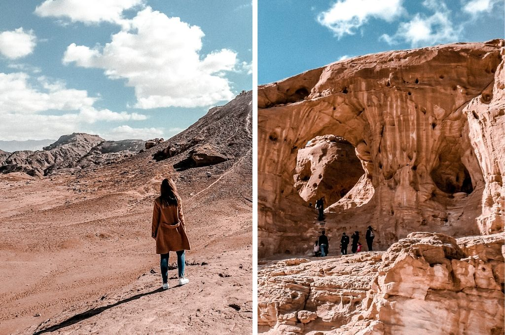 Łuki skalne w Parku Timna