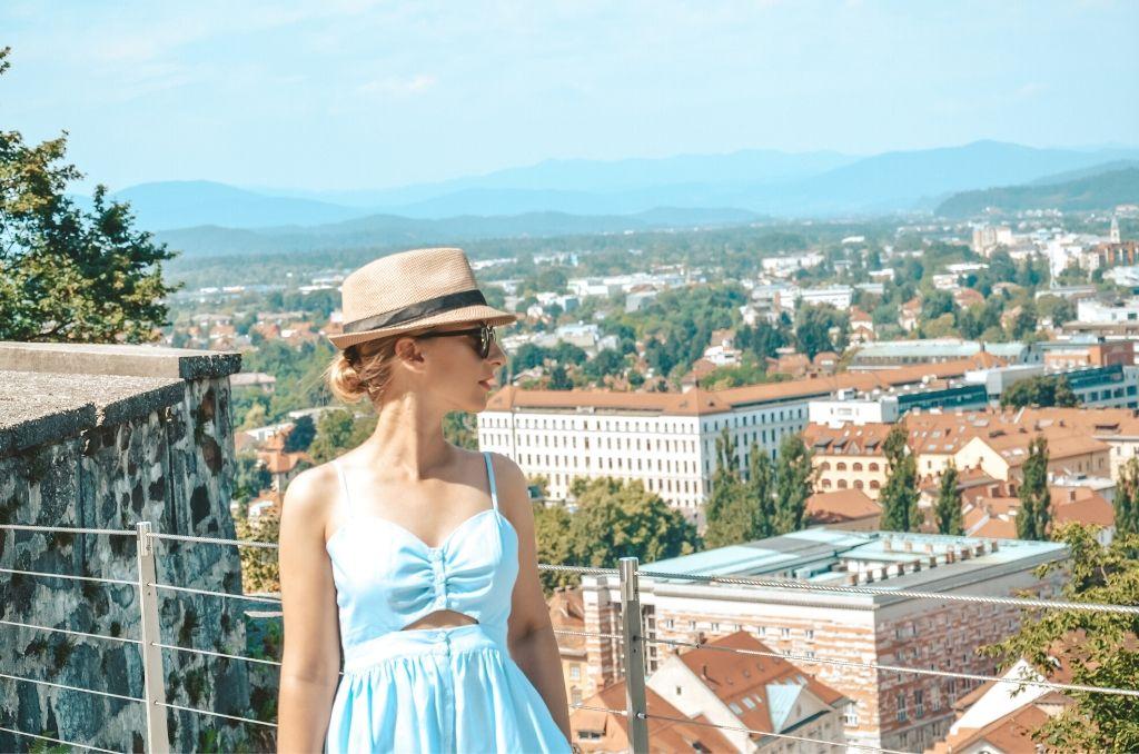Widok na Lublanę