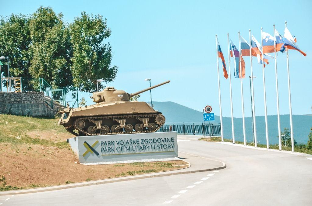 Słowenia czołg