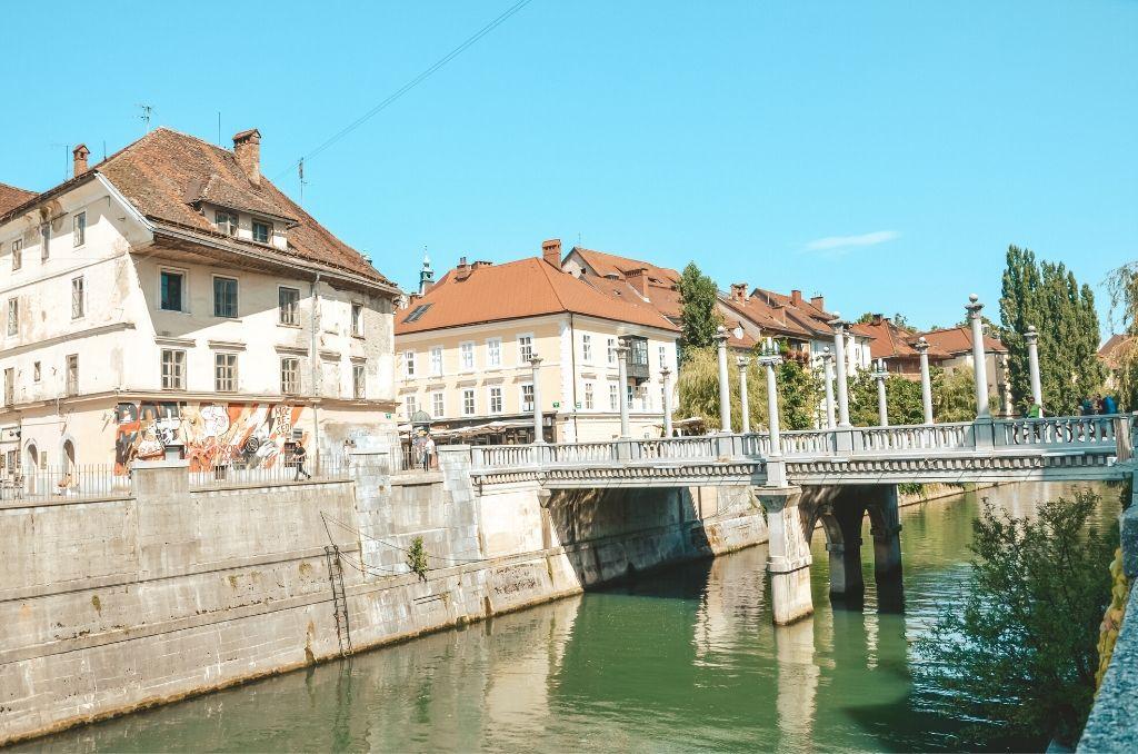 Mosty w Lublanie