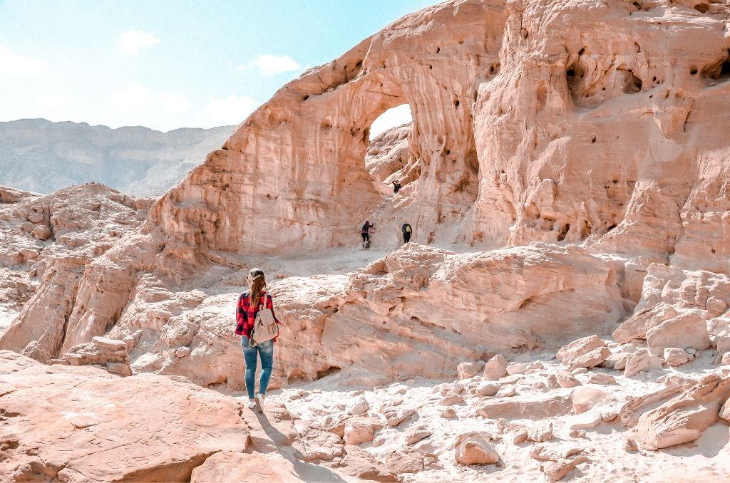 Łuki skalne w Izraelu