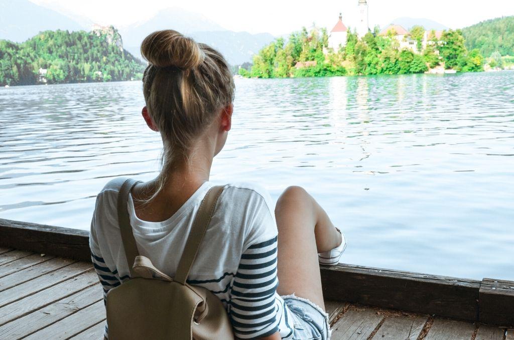 Spacer nad Jeziorem Bled