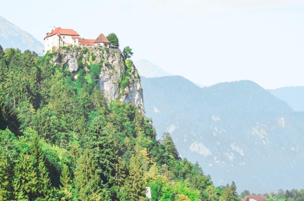 Zamek Bled Słowenia
