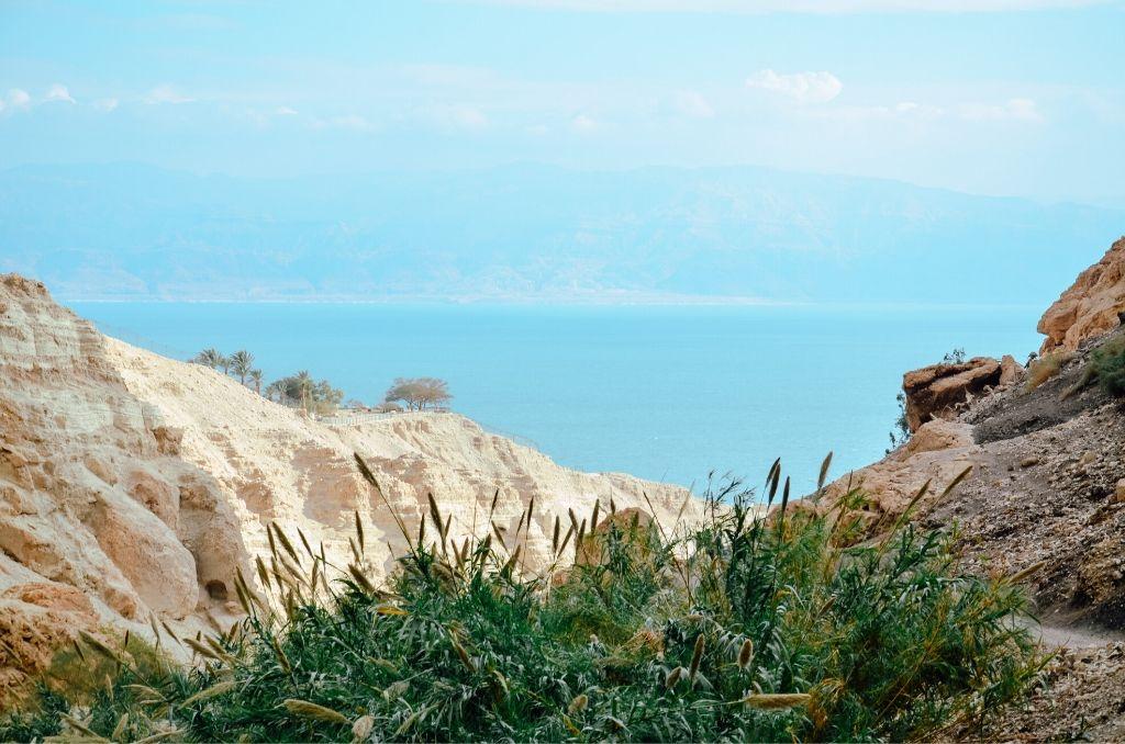 Park Ein Gedi Morze Martwe