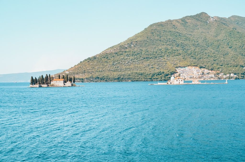 Boka Kotorska Widok