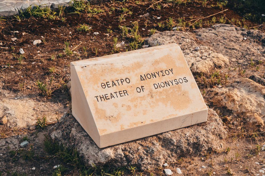 Teatr Dionizosa w Grecji