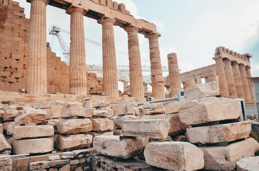 Ruiny Parteonu Ateny