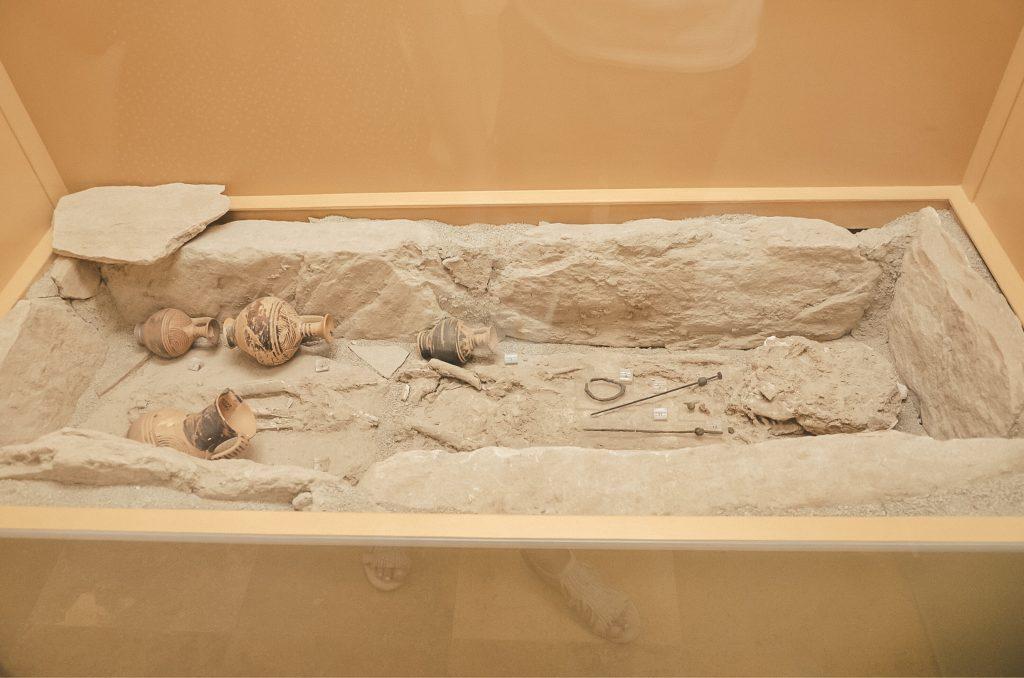 Grobowiec z czasów Starożytnej Grecji