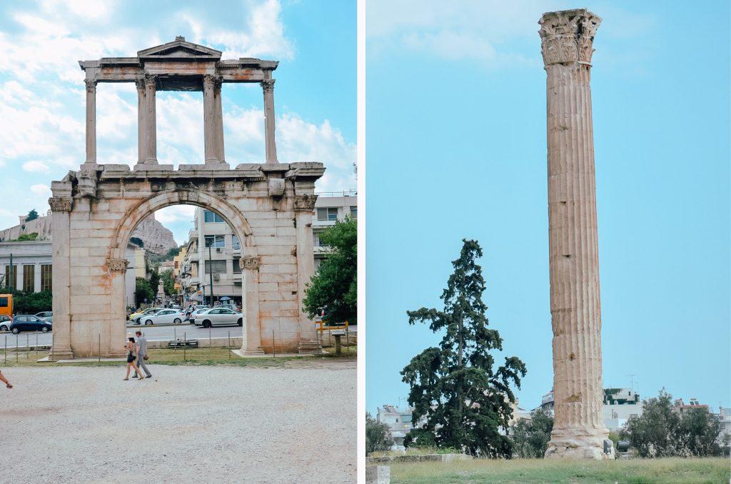Łuk Hadriana w Atenach