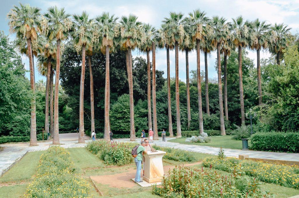 Ateny Ogród Narodowy