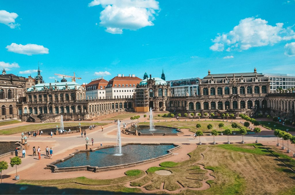 Ogrody Pałac Zwinger