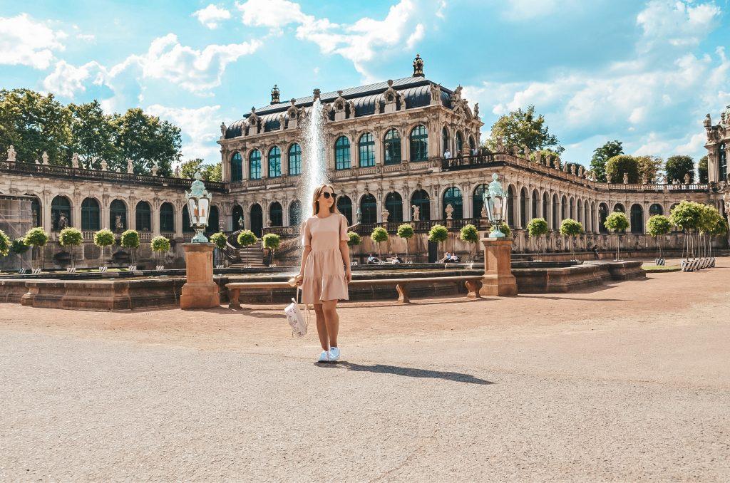 Ogrody Pałacu Zwinger