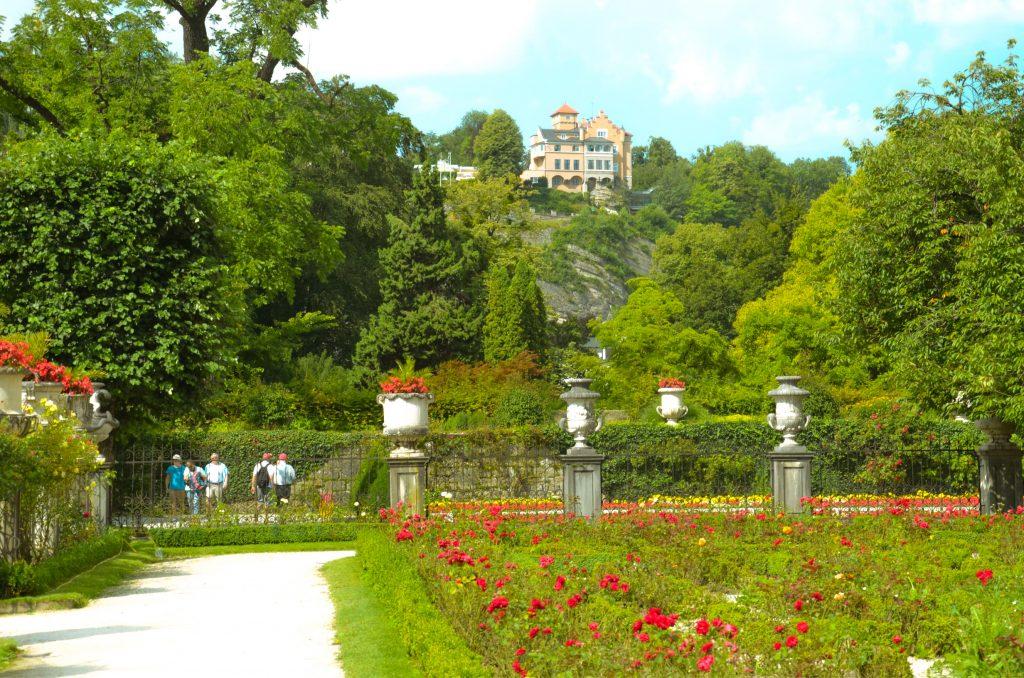 Mirabellgarten w Salzburgu