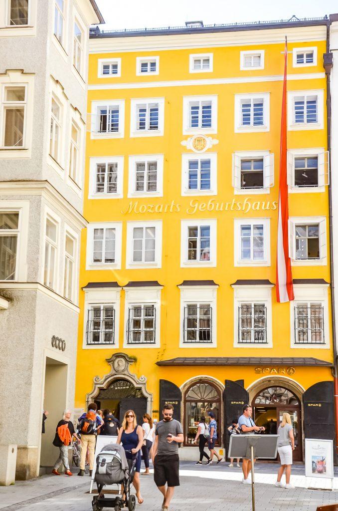 Muzeum Mozarta Salzburg