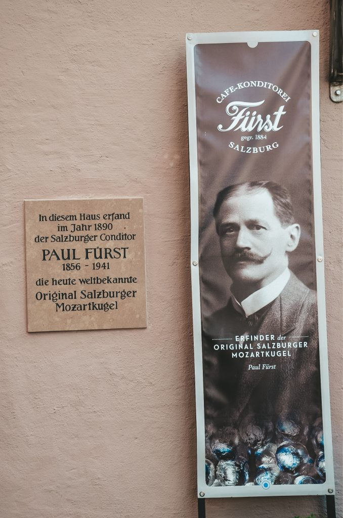 Cukiernia Paula Fursta - twórcy Mozartkugel
